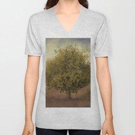 Whimsical Tree Unisex V-Neck