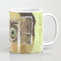 creepy Mugs featuring UNCLE CREEPY by Julia Lillard Art