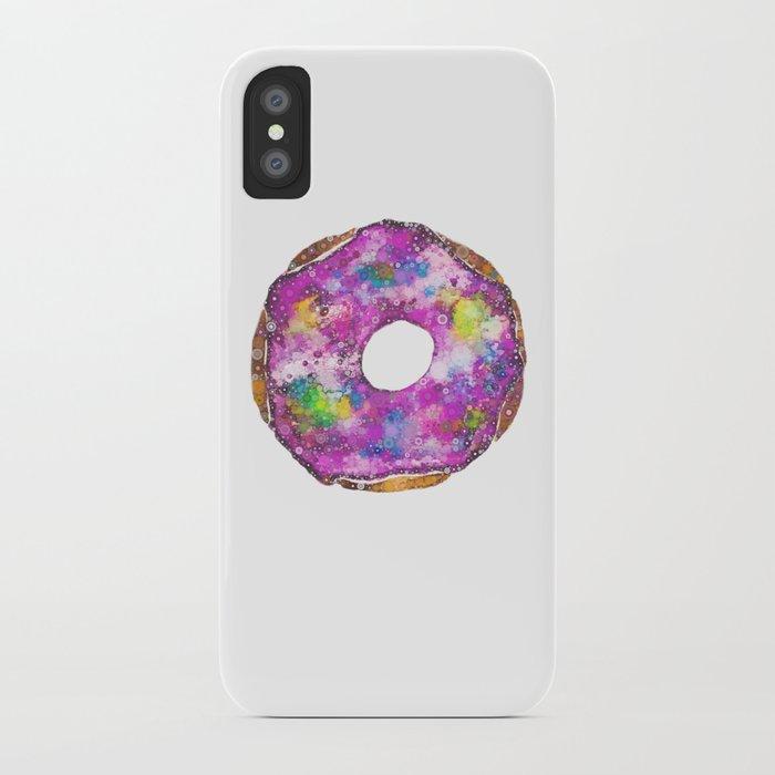 Psychedelic Phrosted Doughnut Baker's Dozen #1 iPhone Case