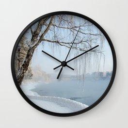 I wish I had a river Wall Clock