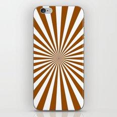 Starburst (Brown/White) iPhone & iPod Skin