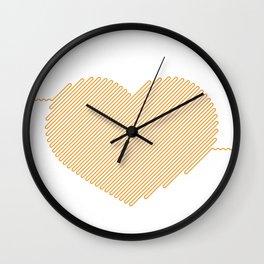 Heart Circuit Wall Clock