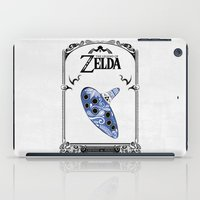 majora iPad Cases featuring Zelda legend - Ocarina of time by Art & Be