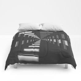 Infinity in Chrome Comforters