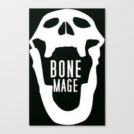Bone Mage Skull  Canvas Print
