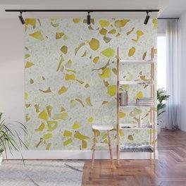 Terrazzo yellow Wall Mural