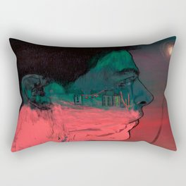 View in the sky Rectangular Pillow