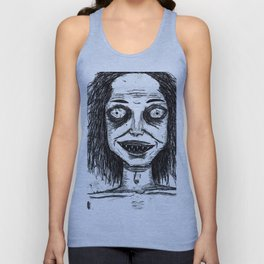 CRAZY DUDE Unisex Tank Top