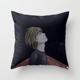Armin Arlert and Stars Throw Pillow
