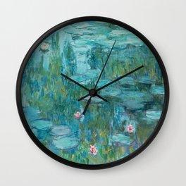 Monet - Water Lilies Wall Clock