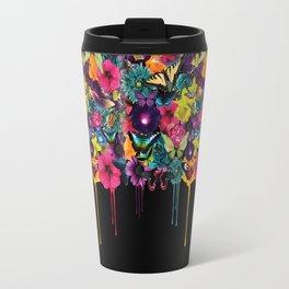 Flowers Melting Travel Mug