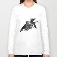 renaissance Long Sleeve T-shirts featuring Renaissance Noir I by Olivia Cho