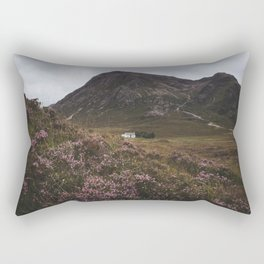 The moorland house - Landscape and Nature Photography Rectangular Pillow