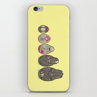 xenomorph iPhone & iPod Skins featuring Xenomatryoshka by Kate Moore
