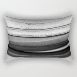 Coiled Snake - An Abstraction Rectangular Pillow