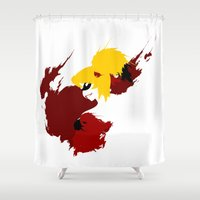 harley Shower Curtains featuring Harley Quinn by Williams Davinchi