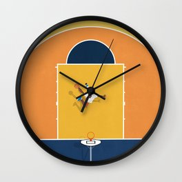 Basketball Vibes  Wall Clock