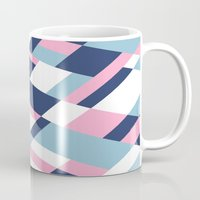 matisse Mugs featuring Matisse Map Pink by Project M