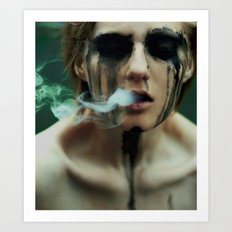 i want to breathe smoke. Art Print