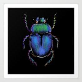 Beetle 1 Art Print