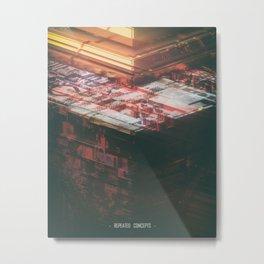 Day 0575 /// rem repeat Metal Print