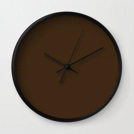 Solid Color BARK Wall Clock