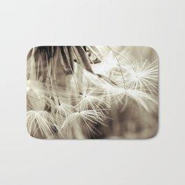 Dandelion seeds Bath Mat