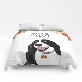Year of the Dog - English Springer Spaniel Comforters