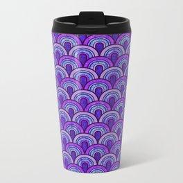 60's Patterns 2 Metal Travel Mug