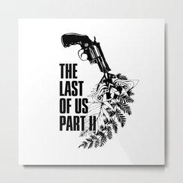 The Last of Us Part II Revolver & Ellie's Tattoo Metal Print