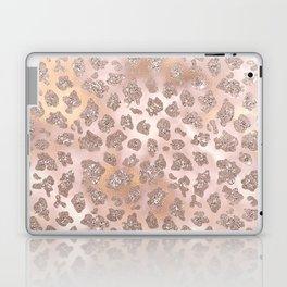 Rosegold Blush Leopard Glitter   Laptop & iPad Skin