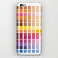 pantone iPhone & iPod Skins featuring pantone by Natasha79