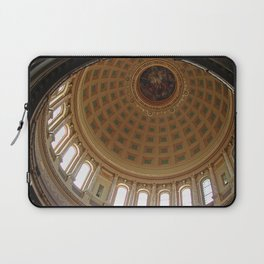 The rotunda of the Capitol building in Madison, Wisconsin Laptop Sleeve