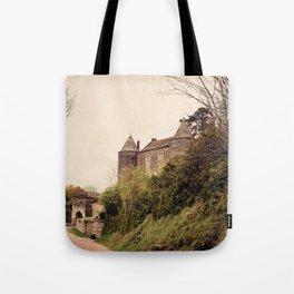 Brancion - French Medieval Chateau Tote Bag