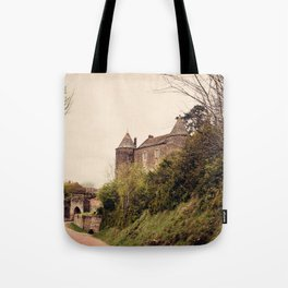 Brancion - French Medieval Chateau Tote Bag