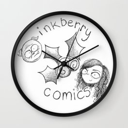 Inkberry Comics Wall Clock