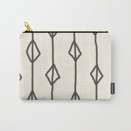 Hand-drawn diamond pattern Carry-All Pouch