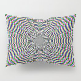 Psychedelic Web Pillow Sham