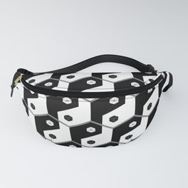 D20 Yin Yang Crit and Fail Fanny Pack