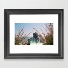 Surf Check on Film Framed Art Print