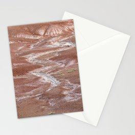 Texture Landscape at Petrified Forest National Park Stationery Cards
