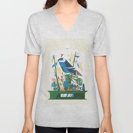 Diorama 1/2 - Jungle Fever Unisex V-Neck