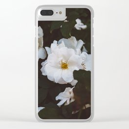 Soho Blooms Clear iPhone Case