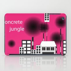 concrete jungle iPad Case