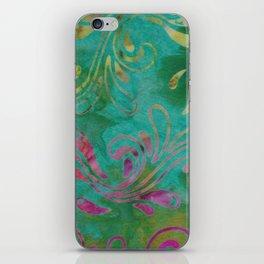 Jungle Batik 02 iPhone Skin