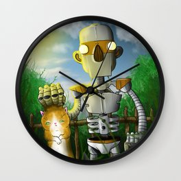 The Groundskeeper Wall Clock
