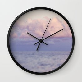 PASTEL SEAS Wall Clock