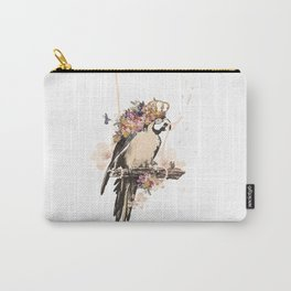 Pearly Parrot  Carry-All Pouch