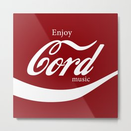 Enjoy CORD Music Metal Print