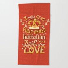 Battalion Beach Towel